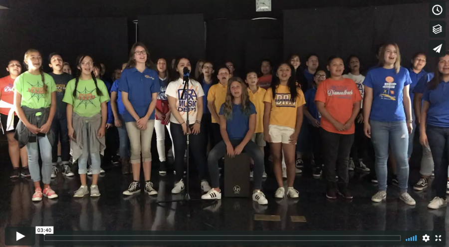 "DRA Choir sings ""Happiness"""