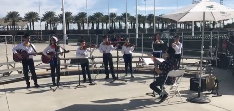 DRA Mariachi Band performs at CAMFest 2017