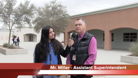 Mr. Miller visits DRA