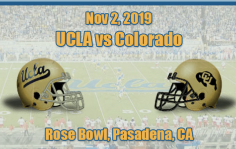 DRA is going to the UCLA vs Colorado football game at the Rose Bowl