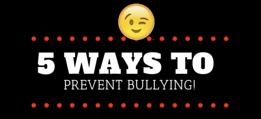 Five ways to prevent bullying