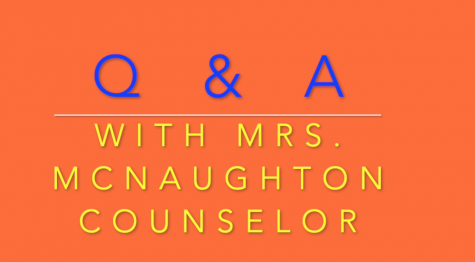 Back-to-school Q & A with Mrs. McNaughton, school counselor