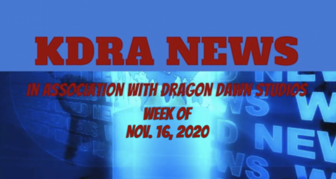 KDRA News for the week of November 16, 2020